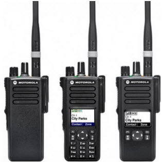Motorola DP4401e DP4601e DP4801e Two-Way Radios