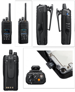 Kenwood NX5300 Series P25 DMR Digital Conventional Two Way Radios