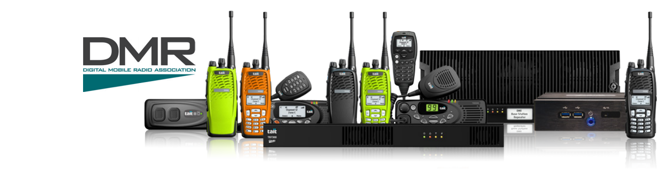 Tait P25 Two-Way Radios Servers DMR Digital