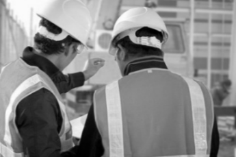 Construction Two-Way Radios on Site