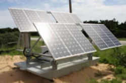 Two-Way Radios Solar Power Trailors