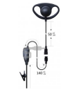 Motorola DHOOK Earpieces for Two Way Radios with push to talk