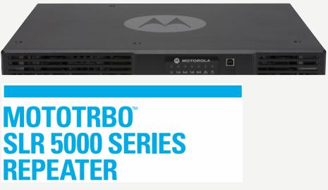 Motorola SLR5000 Repeater MOTOTRBO