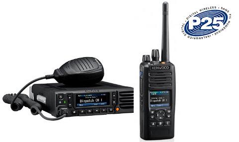 Kenwood P25 radios