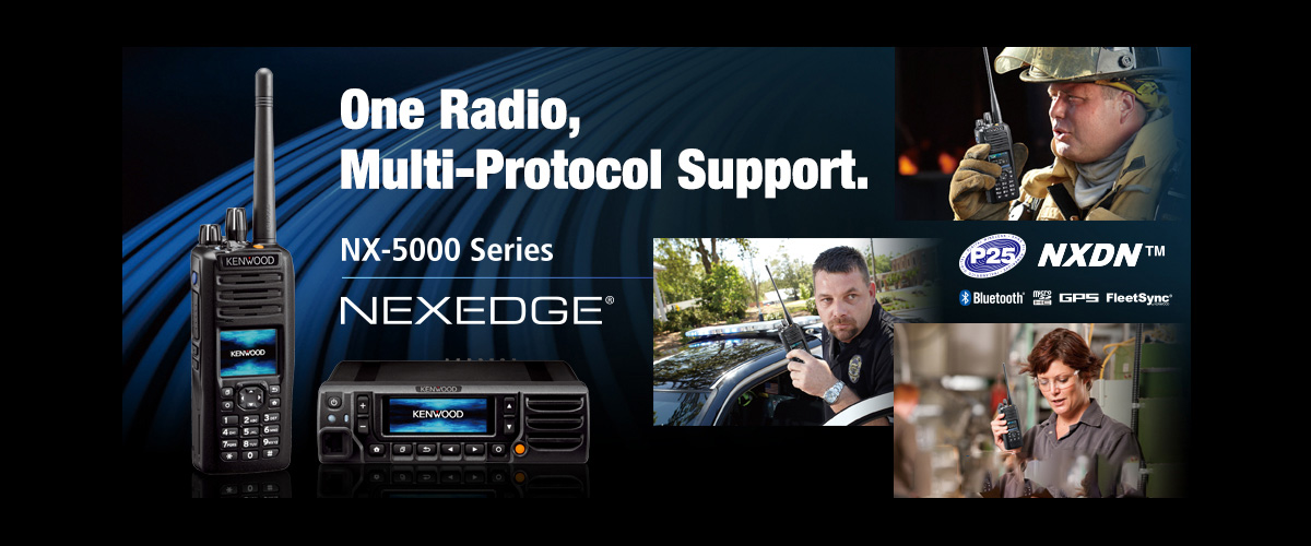 Kenwood Radios NEXEDGE Emergency Radio Systems
