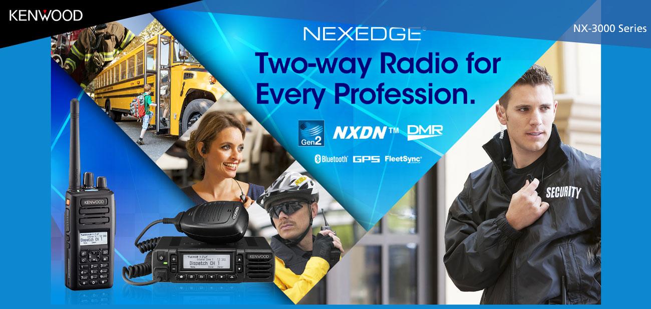 Kenwood NX3000 Series Two Way Radios