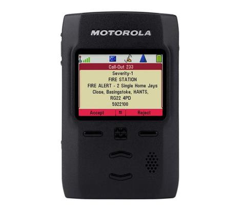 Motorola TPG2200 Pager Tetra