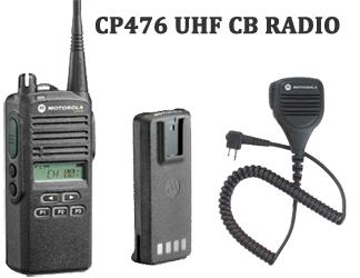 CP476,Motorola CB UHF CP476 Radio, Accessories