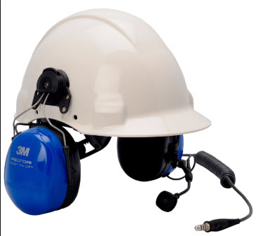 3M Peltor Headsets with Hardhat