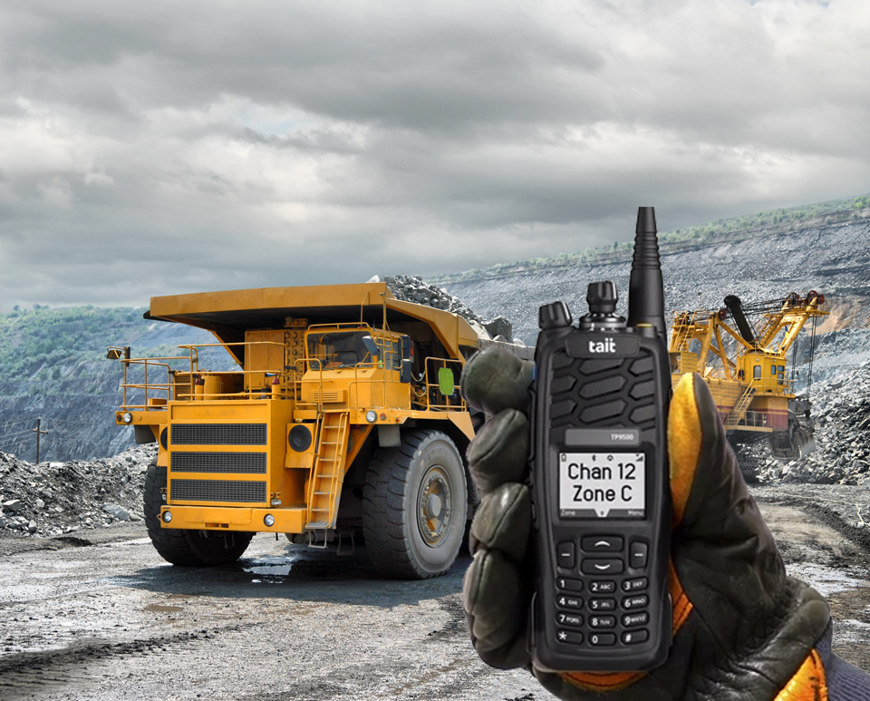 Mine Site Two Way Radio Communications