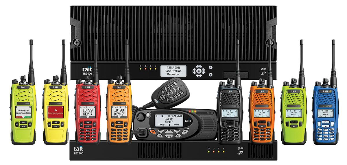 Tait P25 Two Way Radios