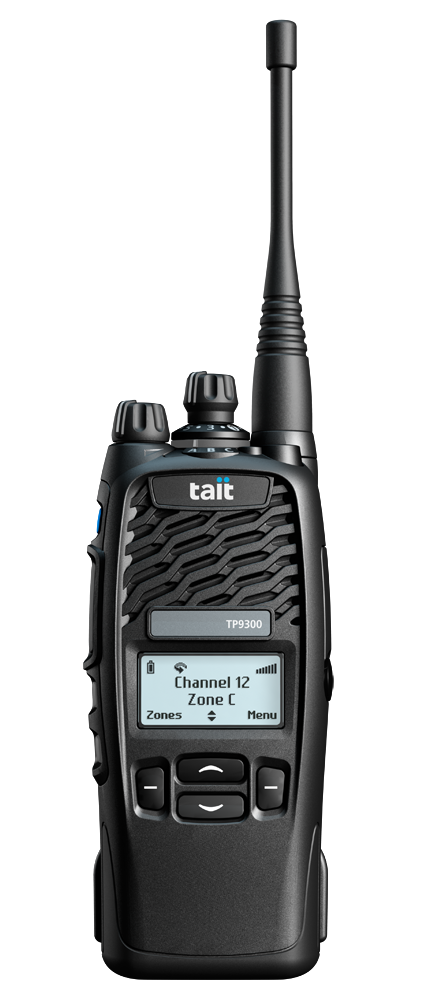 Tait TP9355 Tri_Quad Mode Two Way Radios -4 Key