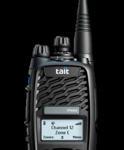 Tait TP9360 Tri_Quad Mode Two Way Radios -16 Key