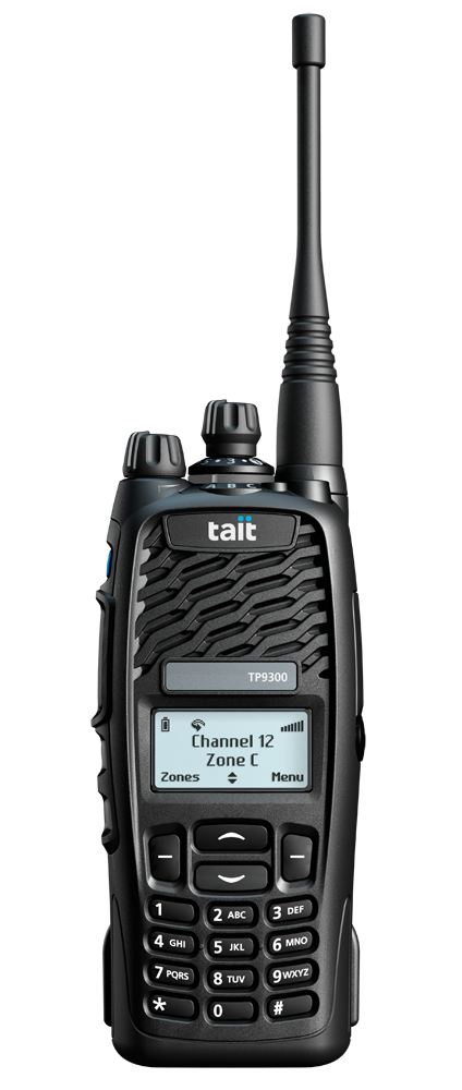 Tait TP9360 Tri_Quad Mode Two Way Radios -16 Key
