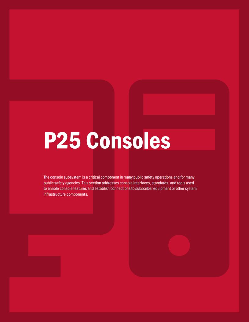 P25 Dispatch Consoles