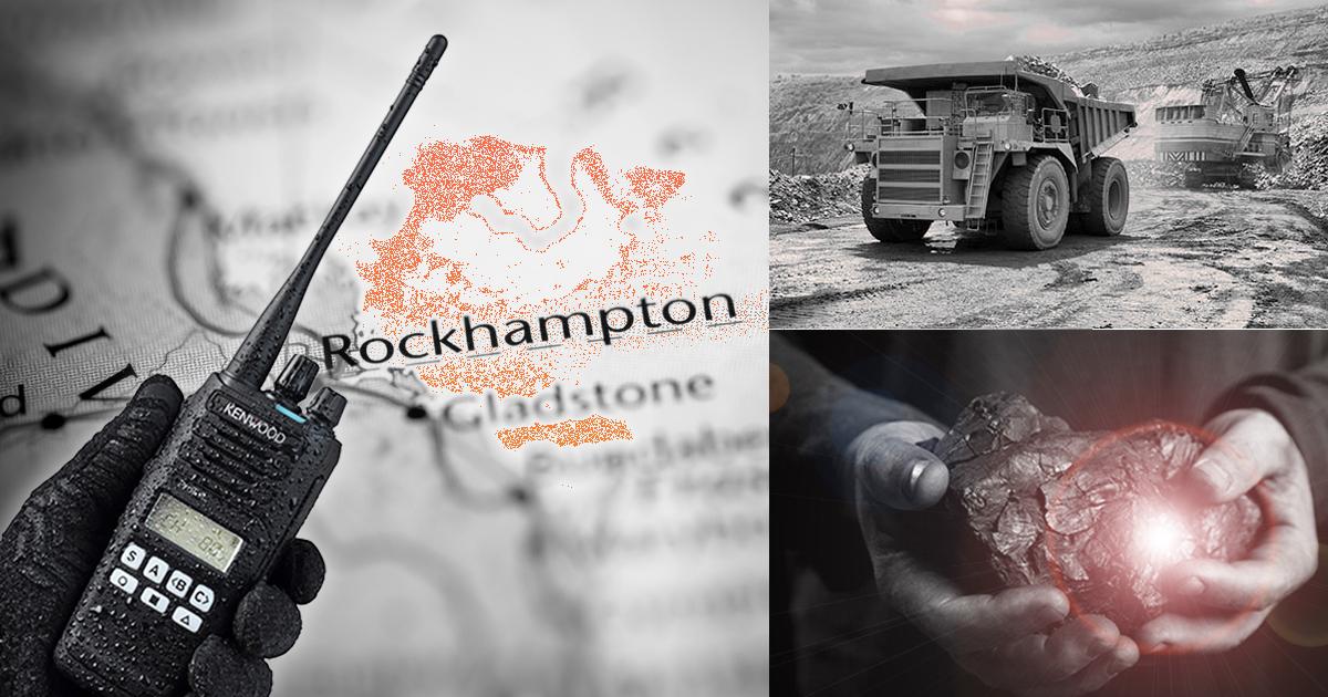 Rockhampton Gladstone Mackay Coal Mining Communications