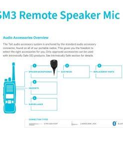 TSM3 Tait Remote Speaker Mic