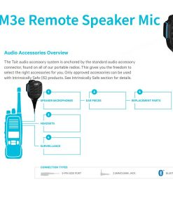 TSM3e 2Watt Remote Speaker for noisy environments