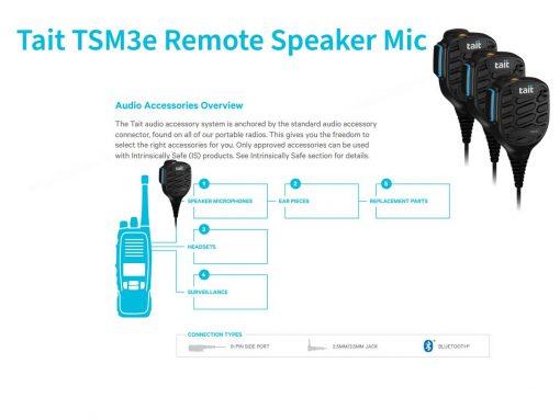 TSM3e 2Watt Remote Speaker for noisy environments