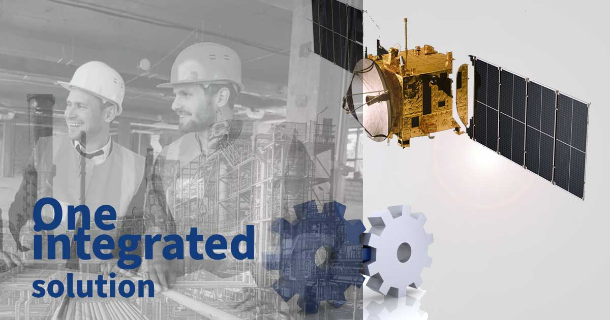 One integrated solution - radio, cellular, satellite and broadband networks