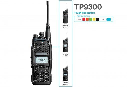 Tait TP9310 TP9355 TP9360