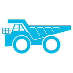 MiningTelecoms Mining Truck ICON