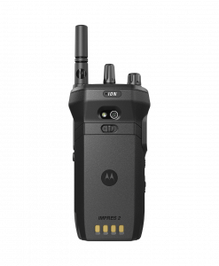 MOTOTRBO ION Two Way Radios back view