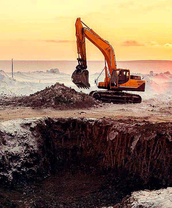 Remote Satellite Communications for Excavation Civil Engineering