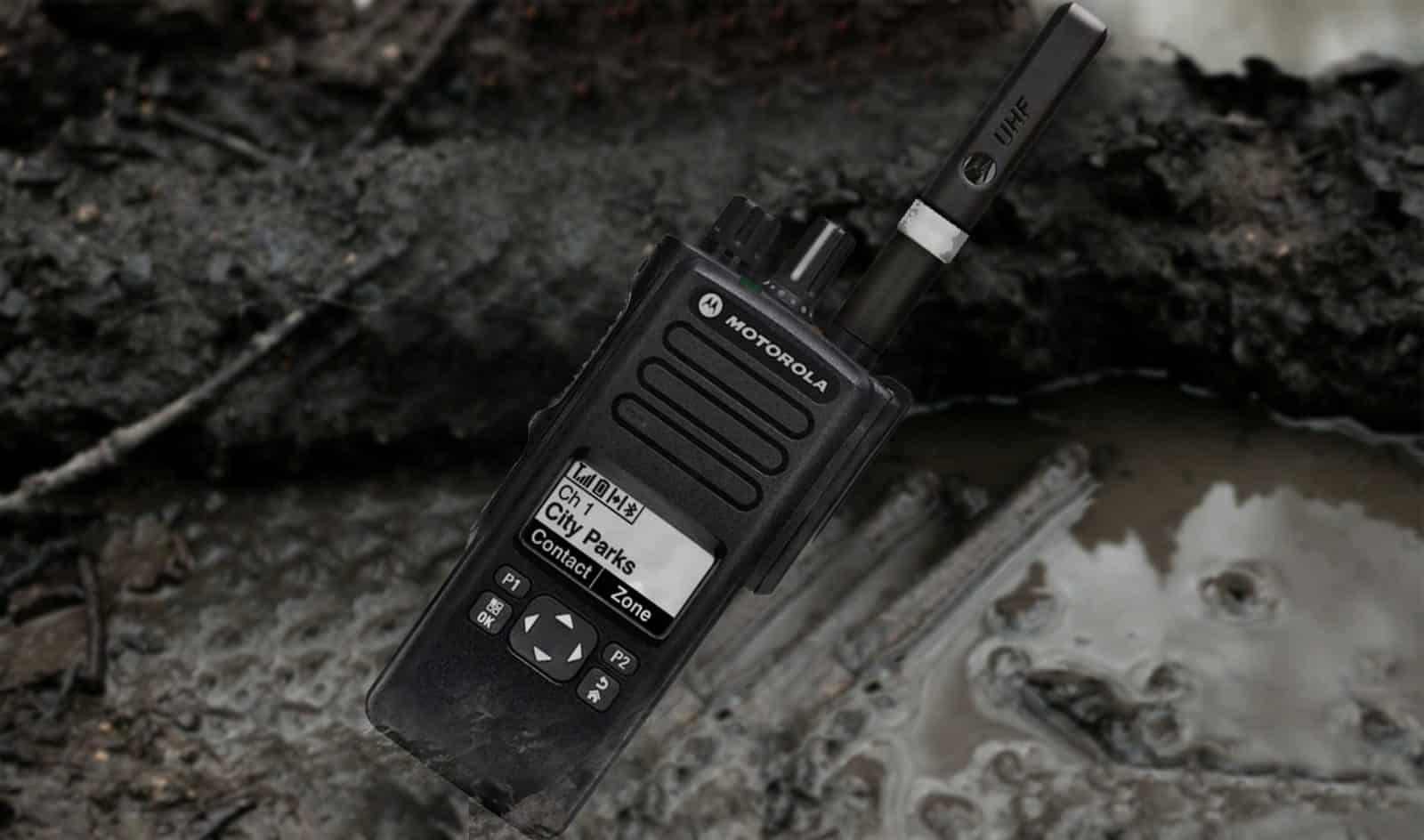 DP4601e UHF VHF 1000 Channel