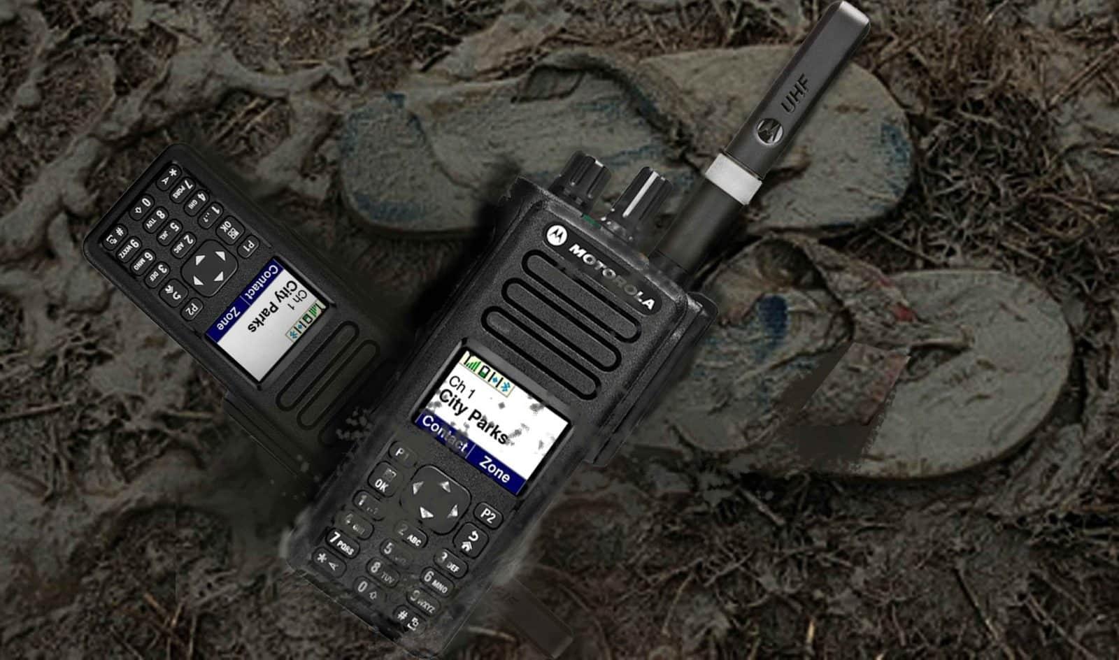 DP4801e UHF VHF 1000 Channel